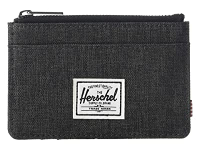 Herschel Supply Co. Oscar RFID (Black Crosshatch) Wallet Handbags