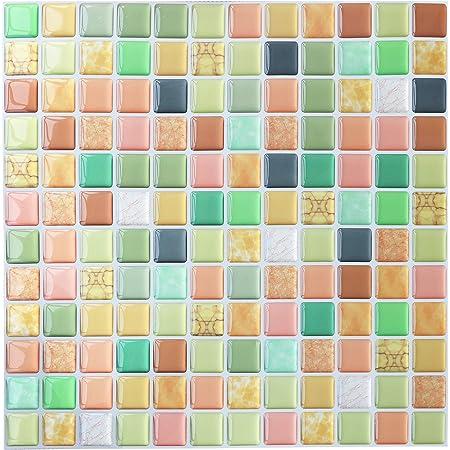 Fliesenaufkleber Mosaik Fliesensticker Aufkleber Sticker Badezimmer Küche