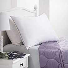Allied Essentials Lavender Aromatherapy Scented Bed Pillow, Standard, White
