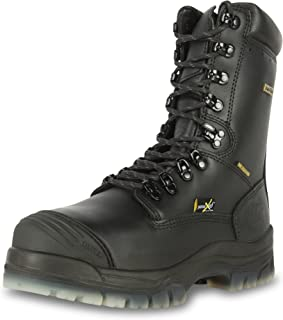 "Oliver 45 Series 8"" Leather Composite Toe Waterproof Men's Metatarsal Boots, Black (45675C)"