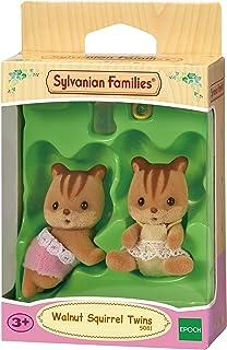 دمية توأم السنجاب من سيلفانيان فاميليز، مناسبة لعمر 3 سنوات -SF3218