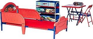 Delta Children Disney Cars Kid Bedroom Set-Bed TableChair storage