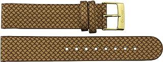 Bracelet de Montre Moog Paris en Cuir de Couleur, Or, Bande 18mm - B18010
