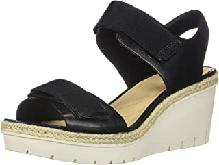 53682f4a62c Amazon.com  CLARKS - Platforms   Wedges   Sandals  Clothing