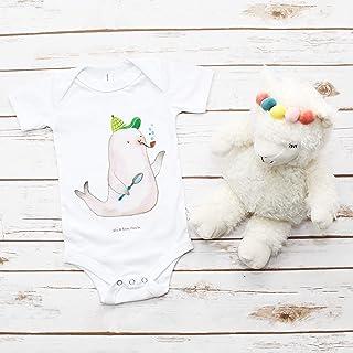 Mr. & Mrs. Panda Mr. & Mrs. Panda Babysuit, Bodysuit, 3-6 Monate Baby Body Robbe Sherlock - Farbe Transparent