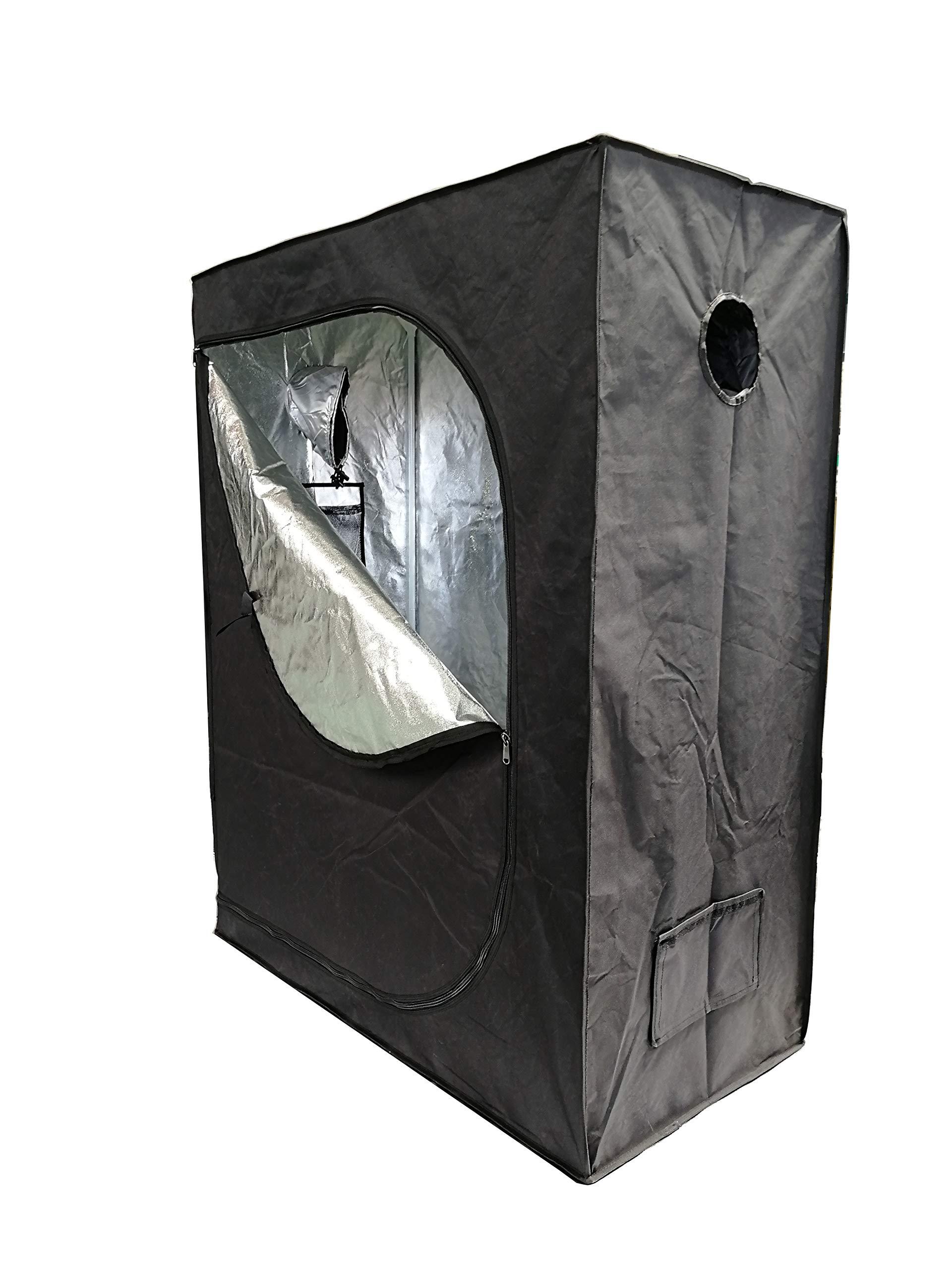 Hydroponics 2.4m x 1.2m x 1.6m Loft Attic Tent Indoor Inside Growing Bud Room