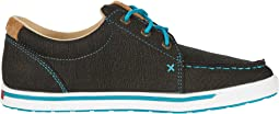 Rubberized Brown/Turquoise