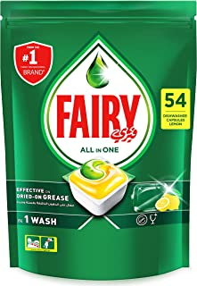 Fairy All In One Dishwasher Tablets, 54 Count