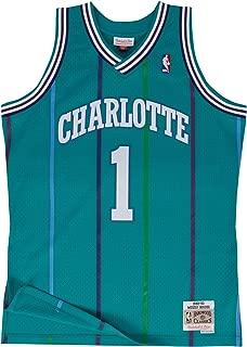 Mitchell & Ness Charlotte Hornets Muggsy Bogues Swingman Jersey