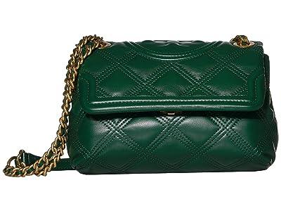 Tory Burch Fleming Soft Small Convertible Shoulder Bag (Norwood) Handbags