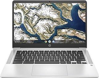 """HP Chromebook 14a-na0004ns - Ordenador portátil HD de 14"""" (Intel Celeron N4020, 4GB RAM, 64GB eMMC, Gráficos Intel UHD 600..."""
