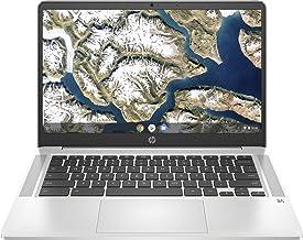 """HP Chromebook 14a-na0004ns - Ordenador portátil HD de 14"""" (Intel Celeron N4020, 4GB RAM, 64GB eMMC, Gráficos Intel UHD 60..."""