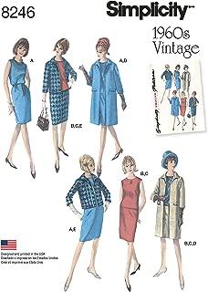 Simplicity Patterns 8246 Misses' 1960's Vintage Sportswear, Size: H5 (6-8-10-12-14)