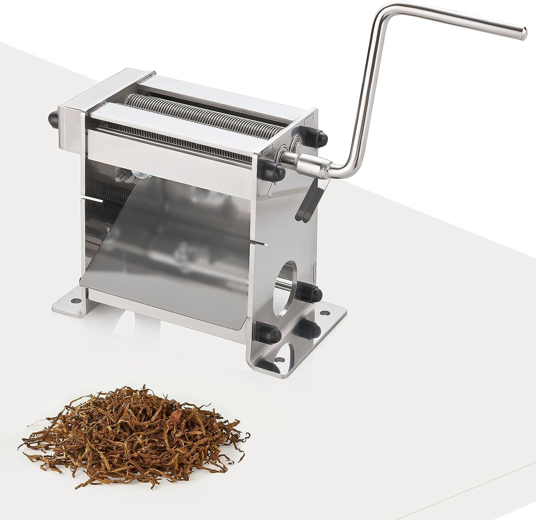Máquina de corte de tabaco TC-100 Plus con rodamiento de bolas. Corte de tabaco de 0,8mm