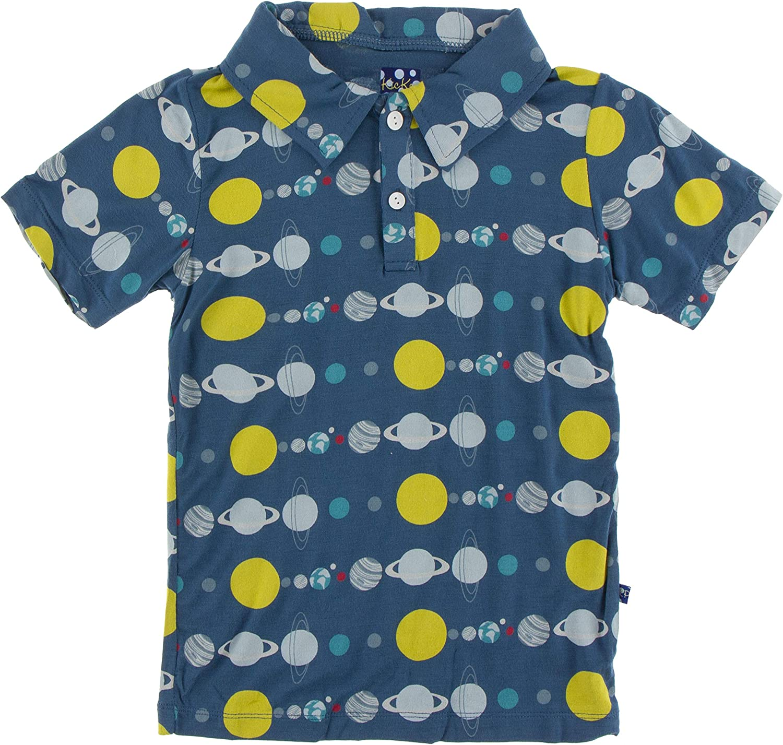 KicKee Pants Print Short Sleeve Polo