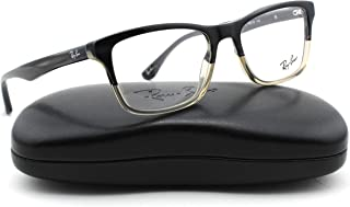 a6f6e756314 Ray-Ban RX5279 5540 Eyeglasses Grey Horn Gradient Transparent Grey Frame  55mm.