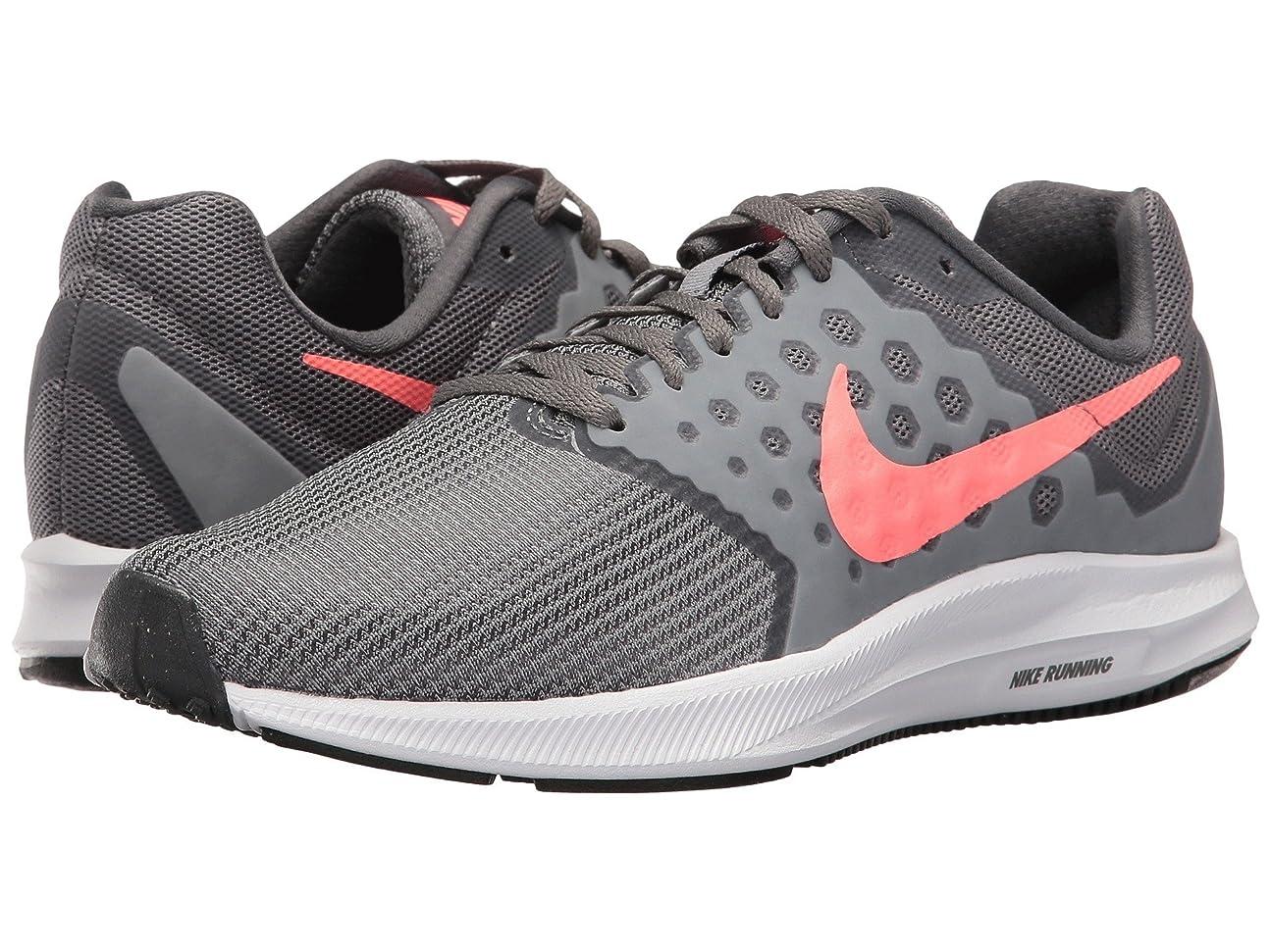 リーフレット保存するネクタイ(ナイキ) NIKE レディースランニングシューズ?スニーカー?靴 Downshifter 7 Cool Grey/Lava Glow/Dark Grey/White 5 (22cm) D - Wide