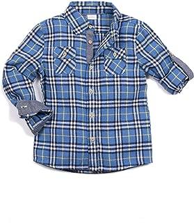 Egg by Susan Lazar Boy's Tyler Shirt, Sky Blue, Size 5Y