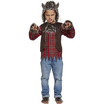 Disfraz hombre lobo para niño -Premium 12-14 años (152/164 ...