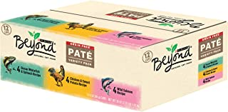 Purina Beyond Grain Free, Natural Pate Wet Cat Food, Grain Free Pate Variety Pack - (2 Packs of 12) 3 oz. Cans