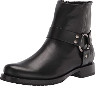 Frye Women's Veronica Harness Short Ankle Boot, Black, 9.5
