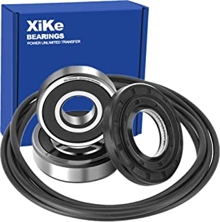 XiKe 4036ER2004A, 4036ER4001B, 4280FR4048E and 4280FR4048L Front Load Washer Tub Bearing & Seal Kit Rotate Quiet and Durable, Replacement for LG and Kenmore Etc.