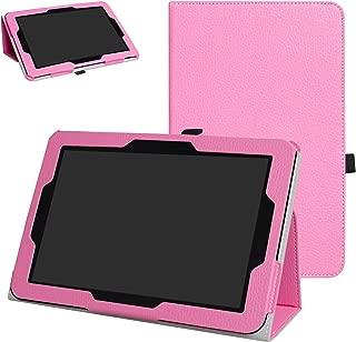 Verizon Ellipsis 10 Case,Mama Mouth PU Leather Folio 2-Folding Stand Cover for 10.1