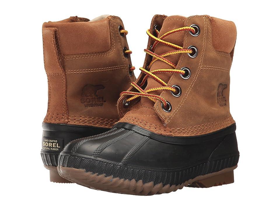 SOREL Kids Cheyanne II Lace (Little Kid/Big Kid) (Elk/Black) Boys Shoes