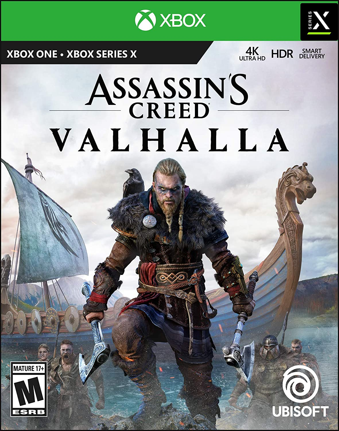 Assassin's Creed Valhalla Xbox Series X S xbox one standard