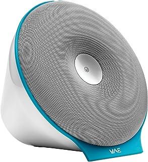 Hercules WAE-BTP02-WB Portable Bluetooth Speaker - Retail Packaging - White/Electric Blue