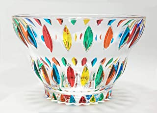 Murano Glass 'Eliza' Bowl - Hand Painted Italian Glass