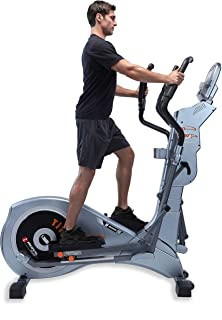 """GOELLIPTICAL T-700MX Motorized VST 19""""-23"""" Programmable Elliptical Exercise Cross Trainer Machine for Cardio Fitness Strength Conditioning Workout at Home or Gym"""