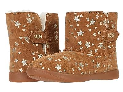 UGG Kids Keelan Stars (Toddler/Little Kid) (Chestnut) Girls Shoes