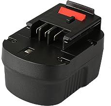 Mitsuru® 3300mAh Ni-MH 12V Batería para Black & Decker A12A12de XJ FSB12A1712B de 8315BD de 1204l bd1204l bpt1047FS120B FS120BX FSB12HPB12