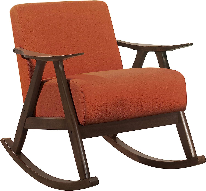 Lexicon Helena キャンペーンもお見逃しなく Rocking Chair Orange 予約販売