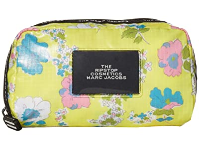 Marc Jacobs The Ripstop Cosmetic Pouch (Yellow Multi) Handbags