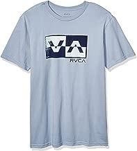 RVCA Men's Random Box Short Sleeve Crew Neck T-Shirt