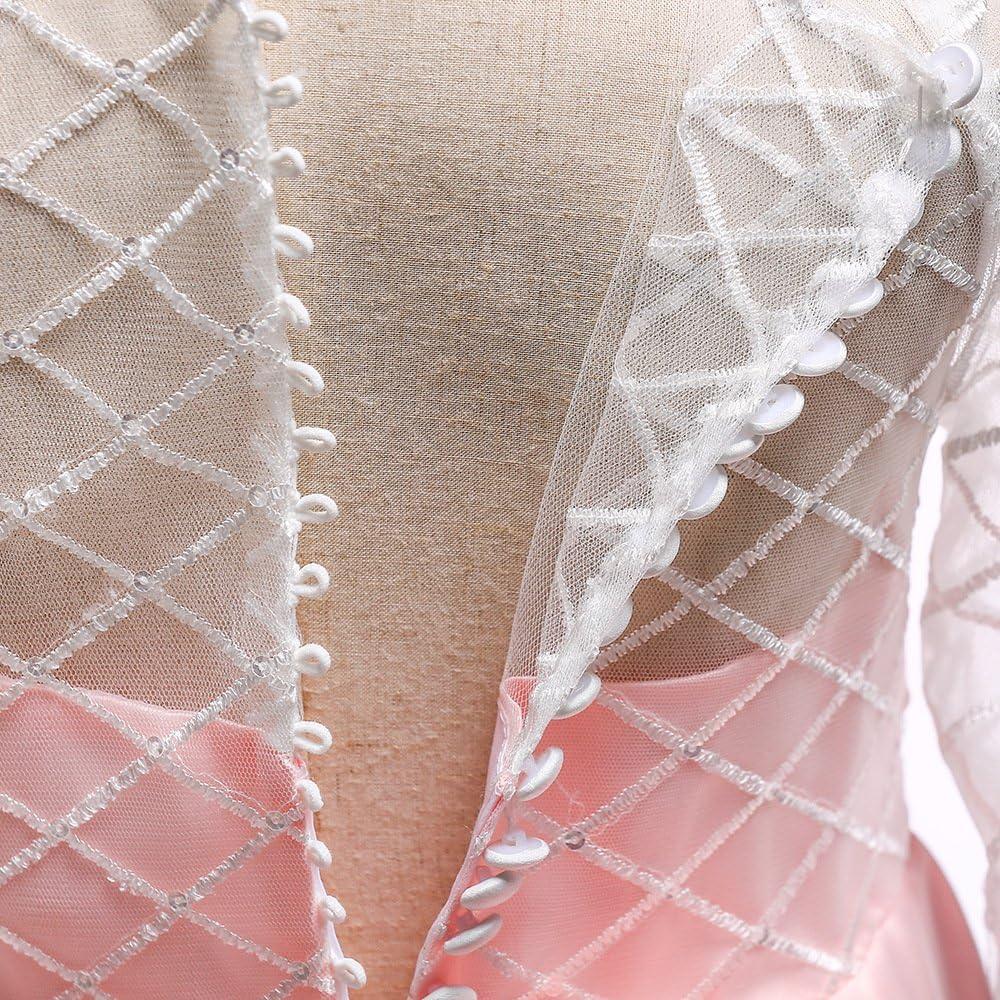 Girls Flower Vintage Floral Lace Long Sleeve Floor Length Dress Wedding Pegeant Dance Gown Dress