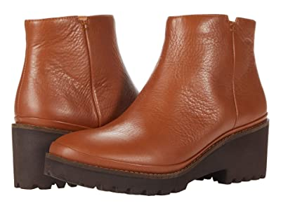 Gentle Souls by Kenneth Cole Mona Bootie (Cognac Leather) Women