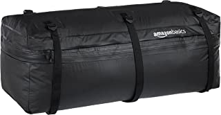 AmazonBasics Expandable Hitch Rack Cargo Carrier Bag, Black, 9.5 cu. ft. Expandable to 11.5 cu. ft.