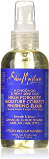 Shea Moisture Mongongo & Hemp Seed Oils High Porosity Moisture-Seal Finishing Elixir