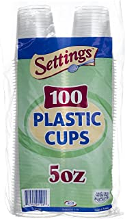 Best 4 ounce clear plastic cups Reviews