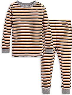 Burt`s Bees Baby Baby Pajamas, Tee and Pant 2-Piece PJ Set, 100% Organic Cotton