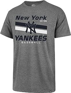 '47 New York Yankees Men's Slate Grey Power Move Club T-Shirt