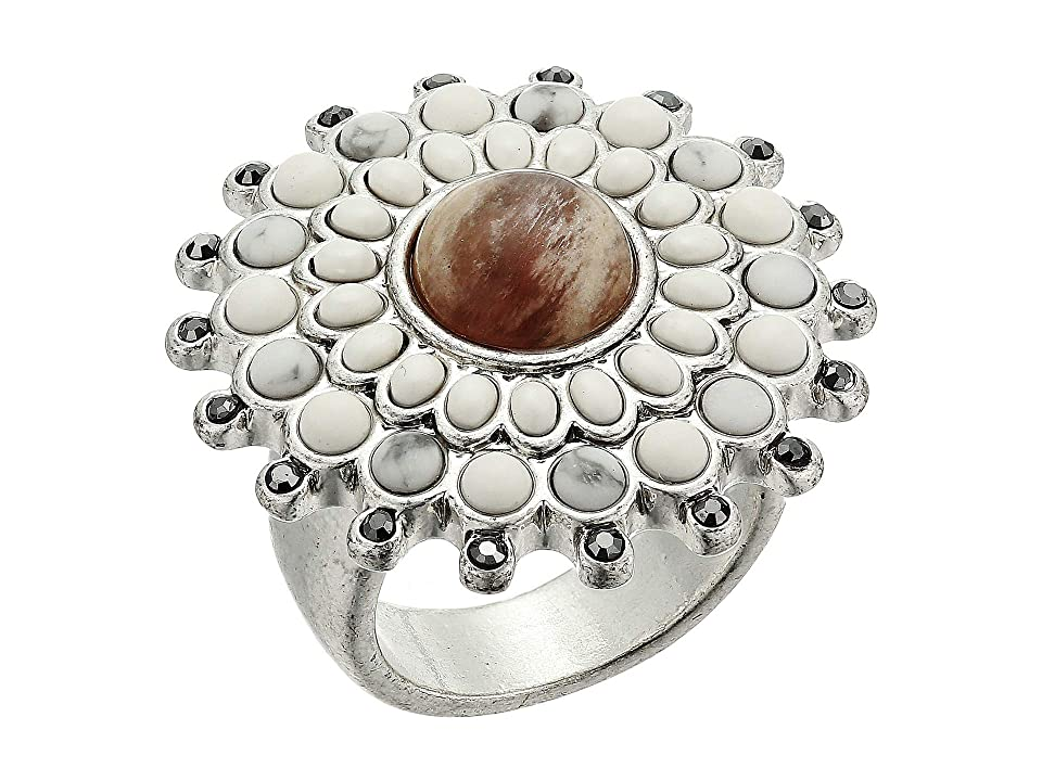 Lucky Brand Dusty Pink Ring (Silver) Ring