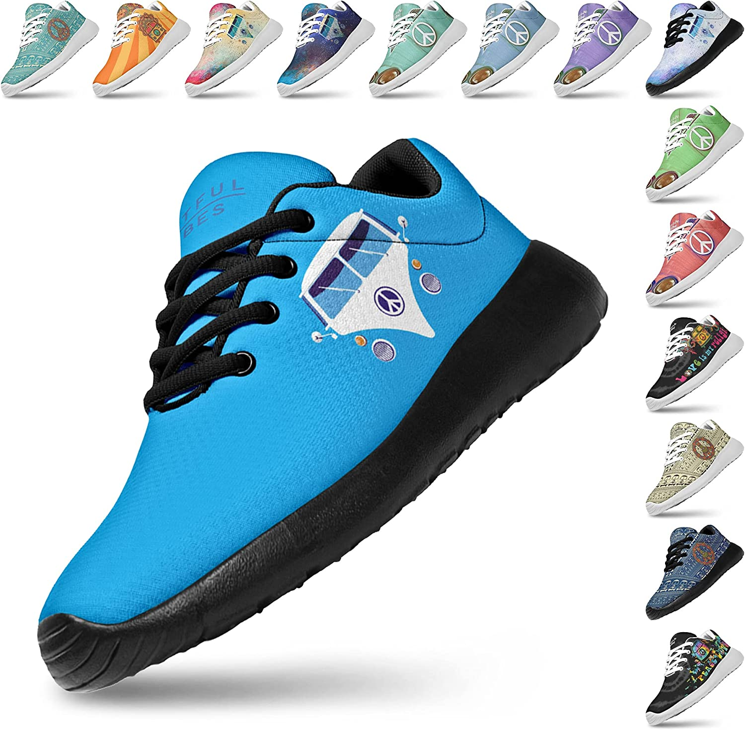 Artful Vibes Womans Lightweight Seasonal Wrap Introduction Athletic Sneaker Fashion Jogging New Orleans Mall