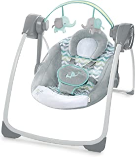 Ingenuity Comfort 2 Go Portable Swing, Jungle Journey