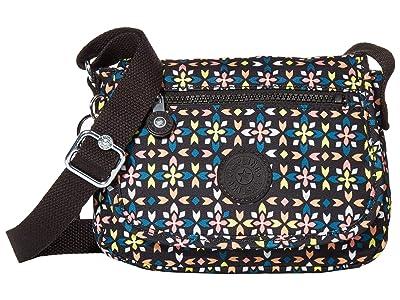 Kipling Sabian Crossbody Mini Bag (Floral Mozzaik) Handbags