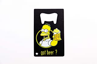 Homer Simpson Got Beer? Design Bottle Opener 3.25x2