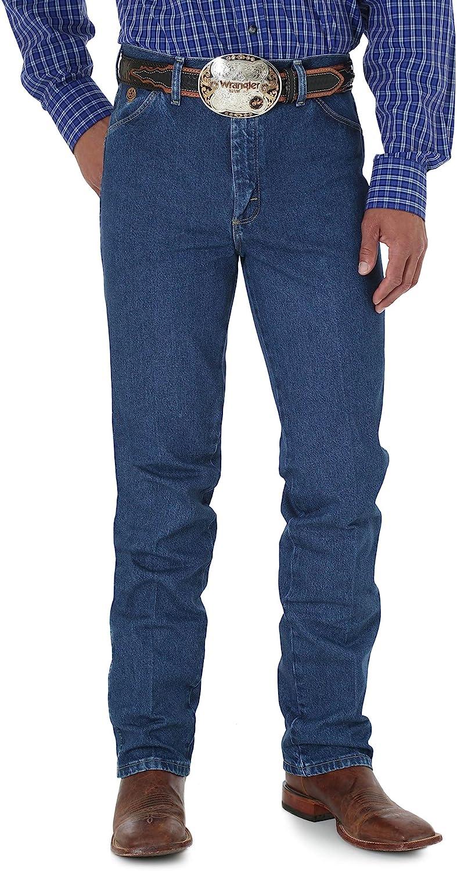 Wrangler Free shipping Large discharge sale Men's George Strait Cowboy Fit Slim Cut Jean